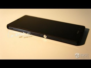 Sony Xperia Z hands on(Видео)