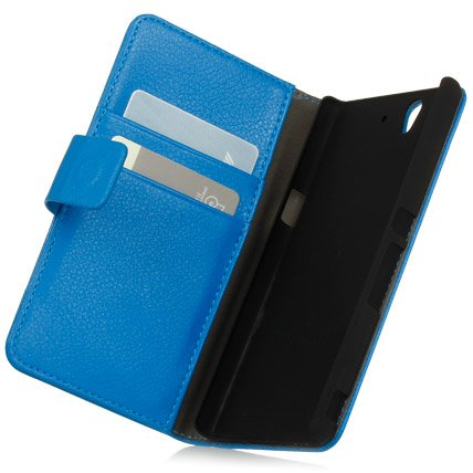 Серия чехлов Protective Leather Wallet case Xperia Z