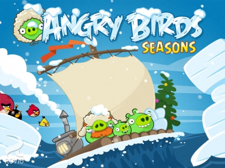 Angry Birds Seasons: Arctic Eggspedition для Xperia