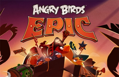 Angry Birds Epic для Android (Xperia)